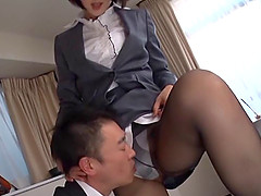 Eri's only desire right now is to do some passionate cock riding